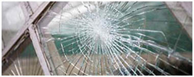 North London Smashed Glass